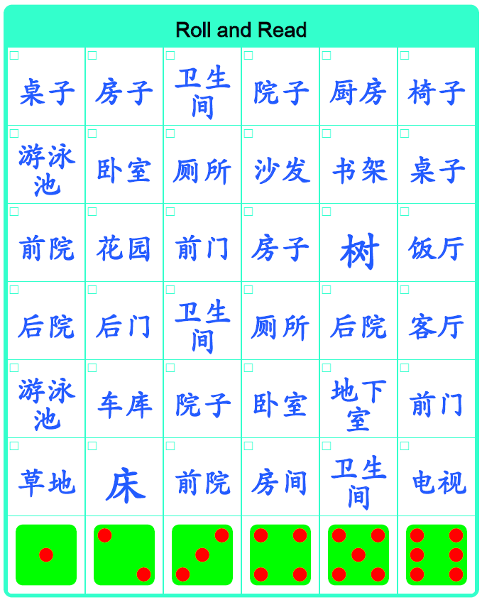 how to read chinese characters