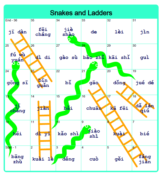 Snakes and Ladders Game Maker