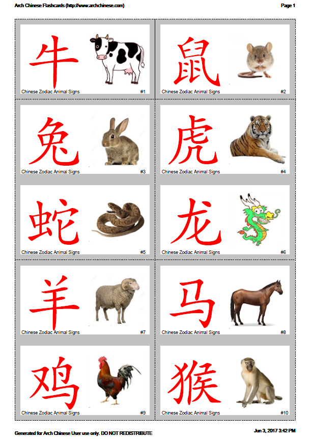 graphic about Chinese Flash Cards Printable identify Arch Chinese - Printable Chinese Persona Flashcard Producer